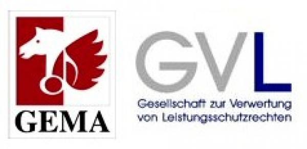 GEMA und GVL Logo
