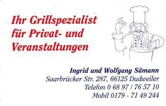 Ingrid und Wolfgang Sämann